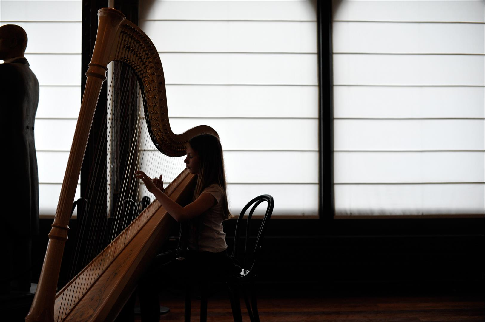 Jeune harpiste