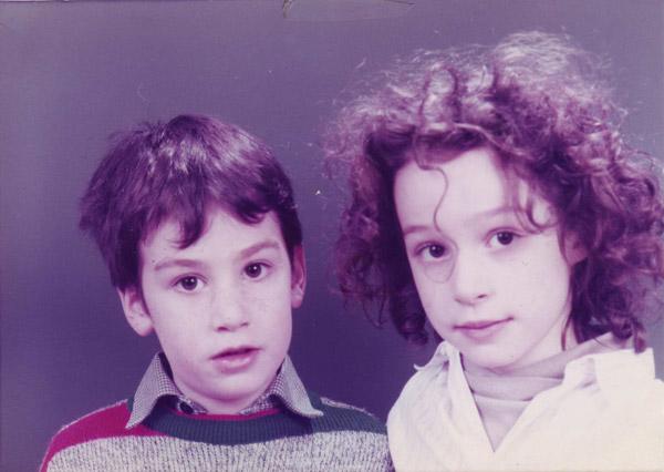 Duo Sluchin - Jeunes années